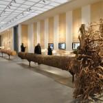 Bauen mit Holz - Wege in die Zukunft / Ausstellungsraum innen