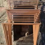Buddha Rahmenkonstruktion Stäbe