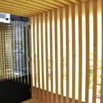 Schauholz Ausstellungsobjekt: Rippenkonstruktion