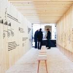 Schauholz Ausstellungsobjekt: Innenraum