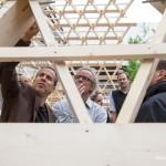 Untersuchung der Holzkonstruktion: Belastbarkeit