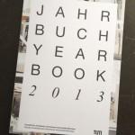Titel Jahrbuch TUM 2013, Fakultät für Architektur