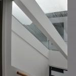 Asperg / Stuttgart: Neubauprojekt EFH: Treppenaufgang