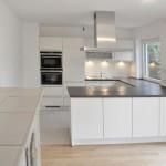 Küche - renoviertes Einfamilienhaus in München