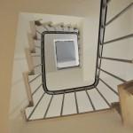 Treppen - renoviertes Einfamilienhaus in München