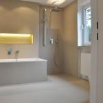 Bad - renoviertes Einfamilienhaus in München, Daglfing