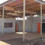 Südafrika Holzbauprojekt Aussenansicht