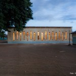 Holzkonstruktion Schule in Sambia/Afrika